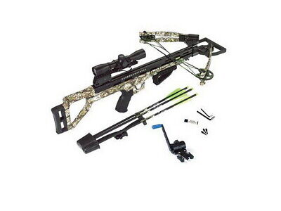 Carbon Express Covert Tyrant Crossbow Package w/4x32 Scope-