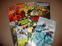SUICIDE SQUAD- ISSUES 1- 8