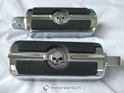 Harley Davidson Skull Fussrasten 50370-04