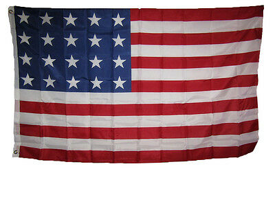3x5 USA American 20 Star Linear 1818 Historical Flag 3'x5' Banner Grommets