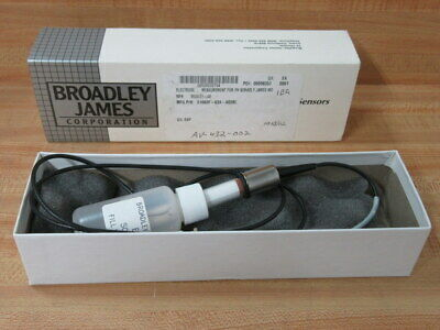 Broadley James S1003f-63a-a03bc Ph Electrode S1003f63aa03bc