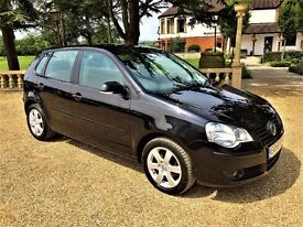VOLKSWAGEN POLO 1.4 Match, Just Serviced, MOT January 2018, Drives Like New (blue) 2008