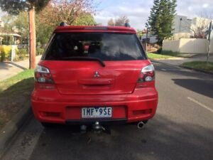 2004 Mitsubishi Outlander Vr-x 4 Sp Auto Sports Mode 4d Wagon