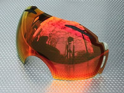 Zero Goggle Replacement Lens for Oakley Airbrake - Red Mirror [zrl-abrk-redm]