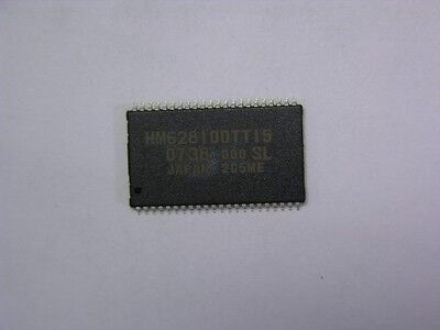 3 Renesas Hm628100ltti-5sl-e 8-mbit Static Ram Ics Wide Temp Version