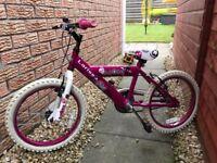 """Girls 18"""" Kids Bike"""