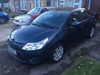 Citroen c4 1.6 diesel wit 30pound road tax for year.