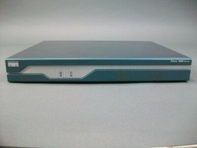 CISCO 1841 INTEGRATED SERVICES ROUTER Tested IOS 15 Free Shipping