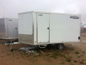 2015 High Country HES 101X12HB 2-Place Enclosed Snowmobile Trail