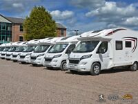 NEW MOTORHOMES TO HIRE * UNLIMITED MILEAGE * 2018 PEUGEOT/PLA 5 BERTH IN CONGLETON / CHESHIRE