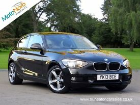 BMW 1 SERIES 118I SE (black) 2013