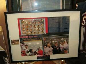 Boston Red Sox 2004 World Series Champions Framed Pinset Piece