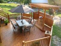 Cedar - Deck & Fences