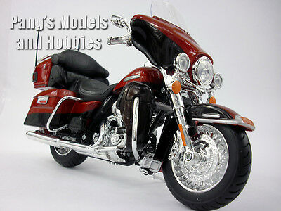 Harley - Davidson Electra Glide Ultra 1/12 Scale Die-cast Metal  Model by Maisto