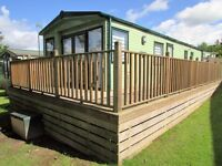 Abi St David 38X12 2 Bedroom 2013 Static Holiday Home Sited Causey Hill Holiday Park HEXHAM