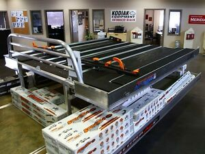 2014 Bulldog 8' SuperDeck Flatdeck Snowmobile Trailer
