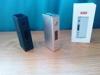 Authentic Sigelei Mini 30W VW Sub Ohm E Shisha Vape Mod Silver