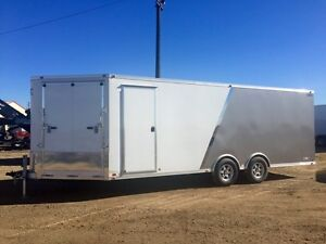2016 ATC Quest Enclosed Snowmobile Trailer