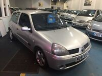 RENAULT CLIO EXTREME 4 DYNAMIQUE 16V (silver) 2005