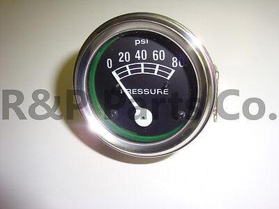 80 Psi Oil Pressure Gauge For Case Tractors
