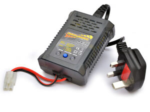 Fast Charger for Radio Control RC Cars 7.2v 7.2Volt Tamiya etc Mains 4.8v - 9.6v