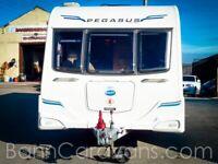 (Ref: V018) 2011 Bailey Pegasus II Verona 4 Berth