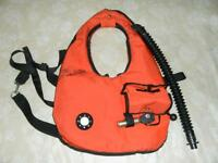 Vintage SCUBA diving equipment