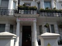 1 night stay Kensington suite hotel