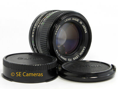 CANON FD 50MM F1.4 FAST PRIME LENS *NEAR MINT CONDITION*