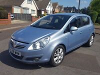 AUTOMATIC,TOP SPEC 2008 Vauxhall Corsa 1.4 Design LOW MILEAGE. P/X, FINANCE & CREDIT CARDS WELCOME