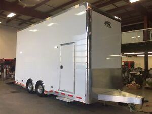 2017 ATC QUEST 305 stacker Enclosed Car Hauler Trailer