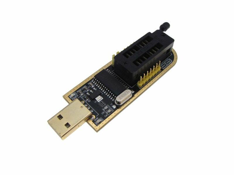 USB BIOS EEPROM SPI FLASH Programmer CH341A 24 25 series