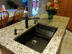 stainless & silgranit KITCHEN SINKS & TAPS, Blanco & other $175+