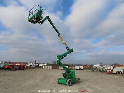 2012 Jlg E450aj 45 Electric Articulating Boom Lift Man Aerial Platform Bidadoo