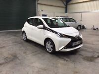 2015 Toyota aygo vvt-I 998cc leather 1 owner sat nav guaranteed cheapest in country