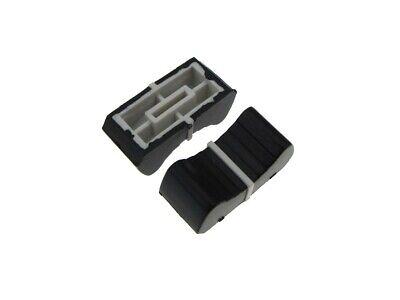 Knob Cap For 8mm Shaft Slide Pot Potentiometer 25x11mm - Black - Pack Of 5