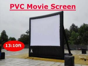 PVC  Inflatable  Movie Screen Outdoor Party 13*10ft NEW with 110v blower (item# 188068)