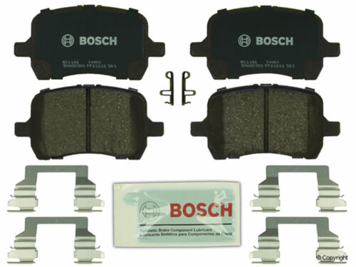 Bosch QuietCast Disc Brake Pad fits 2008 2009 Pontiac G5 G6  MFG NUMBER CATALOG