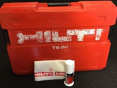Hilti Te 24 Case This Is Only Case Preowned Free Grease Fast Ship