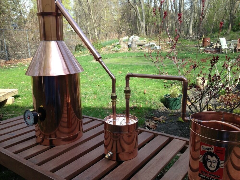 how to build a moonshine still thumper