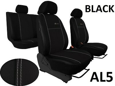 CITROEN C8 5 SEATS 2002-2014 ECO LEATHER & ALICANTE SEAT COVERS MADE TO MEASURE