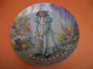 """""""MARY, MARY"""" MOTHER GOOSE SERIES COLLECTOR PLATE 1979"""