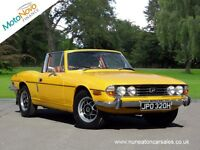 TRIUMPH STAG Mark 1 Manual Over Drive (yellow) 1970