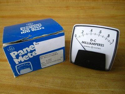 General Electric 50-162111fafa2 Ge Panel Meter 0-1 Ma Dc Milliamperes