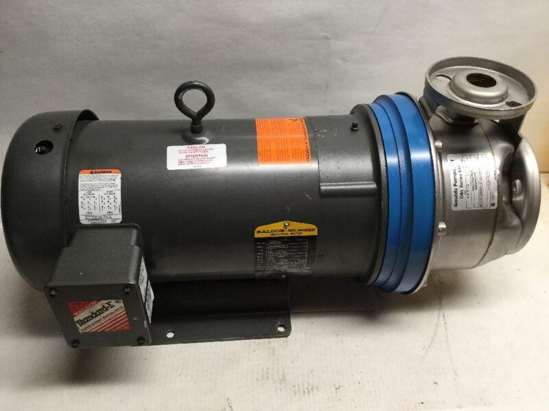 Goulds Pumps ITT G&L Series SSH 1 X 2-6 9SH2K52A0 7.5HP Baldor Motor