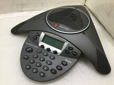 Polycom Soundstation Ip 6000 Voip Conference Phone 2201-15600-001
