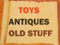 Looking to Buy Antiques, Vintage Toys & Collectibles Cash Paid