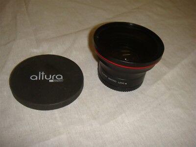 ALTURA PHOTO 58MM .43x WIDE ANGLE LENS W MACRO for Canon Rebel T6i T5i T3i