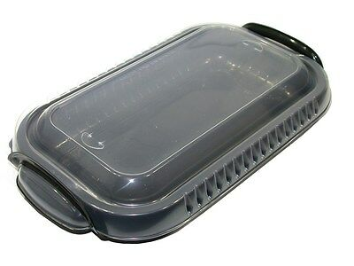 Case Of 100 Pactiv Clearview Mealmaster One Takeout Compartment Casserole Contai