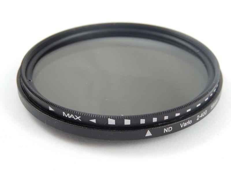 Neutraldichtefilter Innen- und Außengewinde ND2 > ND400 für 58mm Objektivgewinde